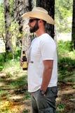 Cowboy décontracté photographie stock libre de droits