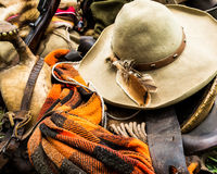 Cowboy d'annata Gear immagini stock libere da diritti