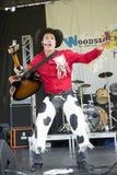 Cowboy dancer Stock Image