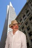 Cowboy dans la ville image libre de droits