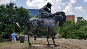 Cowboy de Dallas photographie stock