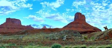 Cowboy de l'Utah photo stock