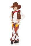 Cowboy de petit garçon Photographie stock libre de droits