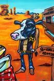 Cowboy in de stad van Camden, Londen Royalty-vrije Stock Afbeelding