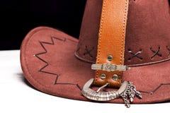 Cowboy del cappello Immagine Stock Libera da Diritti