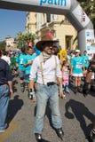 Cowboy del pattinatore Fotografia Stock Libera da Diritti