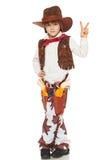 Cowboy del ragazzino Immagini Stock Libere da Diritti