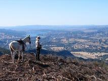 Cowboy di Santa Barbara Fotografia Stock
