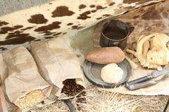 Cowboy Dinner Photographie stock libre de droits