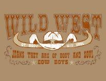 Cowboy do projeto Imagem de Stock Royalty Free