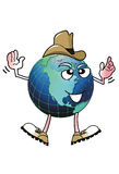 Cowboy Earth Man. Royalty Free Stock Photo