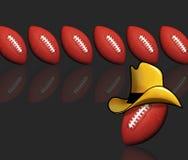 Cowboy Football. Royalty Free Stock Photography