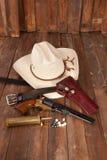 Cowboy Gear Lizenzfreie Stockfotografie