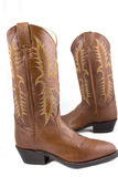 Cowboy gear. Western riding equipment, boots Stock Images