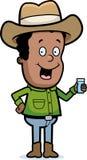 Cowboy-Getränk Lizenzfreies Stockbild