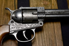 Cowboy gun Stock Photography