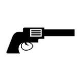 Cowboy gun isolated icon. Vector illustration design Royalty Free Stock Photo