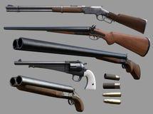 Free Cowboy Guns Stock Image - 81855671