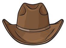 Cowboy hat. Old cowboy hat, cowboy hat vector stock illustration