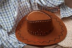 Cowboy hat Stock Image
