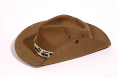 Cowboy Hat. Side view of cowboy hat Royalty Free Stock Images