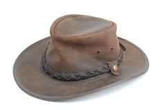 Cowboy hat. Isolated cowboy hat on white background stock photography