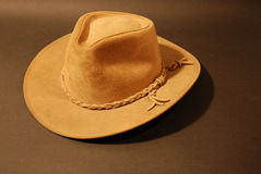 Cowboy hat brown Royalty Free Stock Image