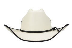 Cowboy Hat Isolated. A western cowboy hat isolated on a white background Royalty Free Stock Photography