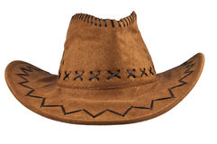 Cowboy Hat. Isolated on the white background stock photography