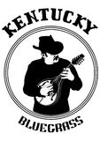Cowboy with mandolin three Royalty Free Stock Photo