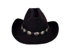 Cowboy Hat met Concho-Hatband. Stock Foto's