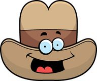 Cowboy Hat Smiling Stock Photography