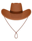 Cowboy hat vector illustration Royalty Free Stock Photos