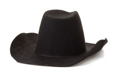 Cowboy hat on white Royalty Free Stock Images