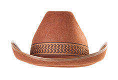 Cowboy hat  on white background Royalty Free Stock Image