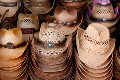 Cowboy hats Stock Photo
