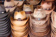 Cowboy hats Stock Photography
