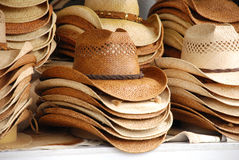 Cowboy Hats. Display of Stacked Cowboy Hats Royalty Free Stock Photography