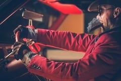 Cowboy heureux Millionaire Photo stock