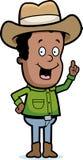 Cowboy-Idee Stockfotos
