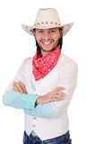 Cowboy isolated Royalty Free Stock Image