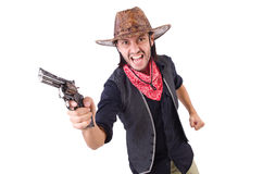 Cowboy isolated Stock Photos