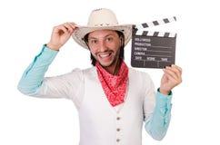 Cowboy isolated Royalty Free Stock Photos