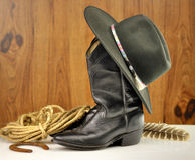 Cowboy items Royalty Free Stock Photos