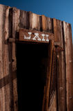 Cowboy Jail. Old style american jail in ghost town Royalty Free Stock Photos