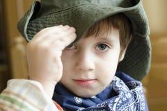 Cowboy Kid royalty-vrije stock afbeeldingen