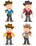Cowboy Kids Collection illustrazione vettoriale