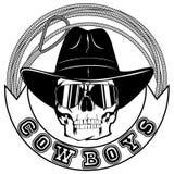 Cowboy lasso var 2 Royalty Free Stock Photography
