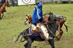 Cowboy latin Photos libres de droits