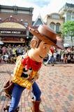 Cowboy legnoso Fotografia Stock Libera da Diritti